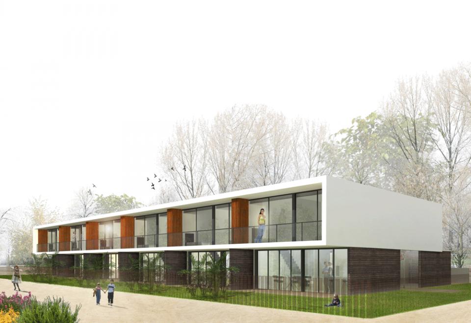 Ischixedda – propuesta de ordenación para 6 viviendas adosadas