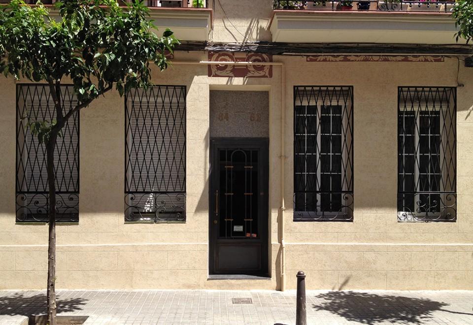 Ignasi Iglésias 62 – rehabilitación de fachada y reconstrucción de balcones
