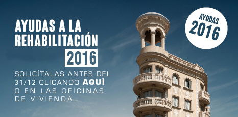 Nueva convocatoria de subvenciones para la rehabilitación de edificios en Barcelona para el año 2016