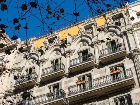 Enric Granados 30 – rehabilitación de la fachada exterior